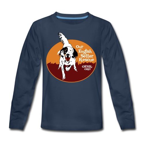 Women's OESR Tri-color Setter Shirt - new for 2016 - Kids' Premium Long Sleeve T-Shirt