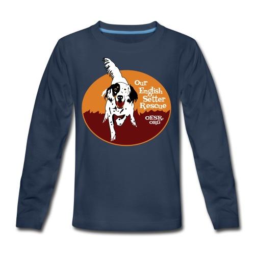 Women's OESR Tri-color Setter Shirt - new for 2016 - Kids' Premium Long Sleeve T-Shirt