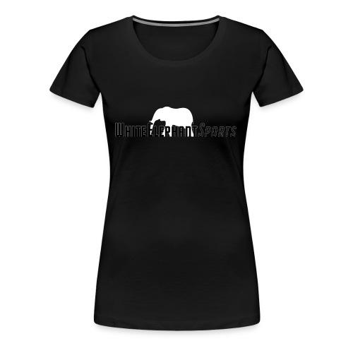 White Elephant Sports Premium Black Tee - Women's Premium T-Shirt