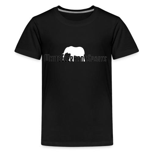White Elephant Sports Premium Black Tee - Kids' Premium T-Shirt