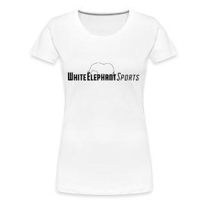 White Elephant Sports Premium White Tee - Women's Premium T-Shirt
