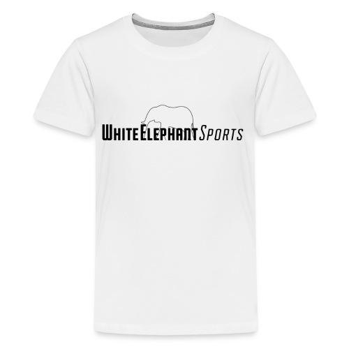 White Elephant Sports Premium White Tee - Kids' Premium T-Shirt