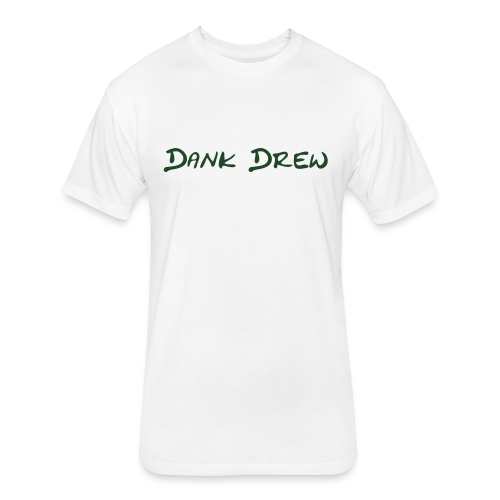 Dank Drew - Fitted Cotton/Poly T-Shirt by Next Level