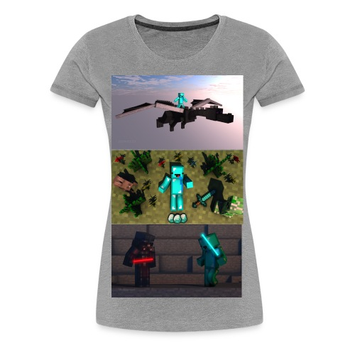 BryceTheDerp Shirt 3x Pictures V1 - Women's Premium T-Shirt