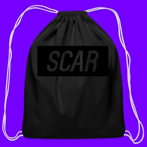 Scar - Gray - Cotton Drawstring Bag