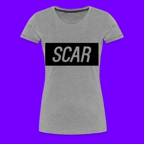 Scar - Gray - Women's Premium T-Shirt