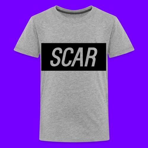 Scar - Gray - Kids' Premium T-Shirt