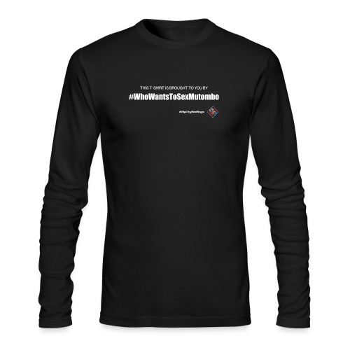 RCBB Mutombo Ladies T - Men's Long Sleeve T-Shirt by Next Level