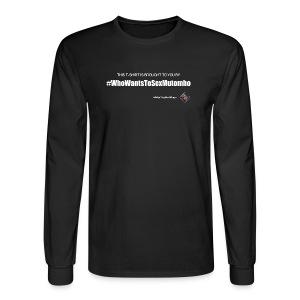 RCBB Mutombo Ladies T - Men's Long Sleeve T-Shirt