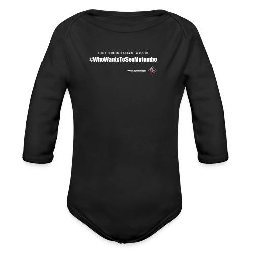 RCBB Mutombo Ladies T - Organic Long Sleeve Baby Bodysuit