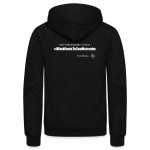 RCBB Mutombo Ladies T - Unisex Fleece Zip Hoodie