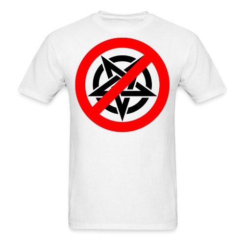Say no to Evil One - Men's T-Shirt