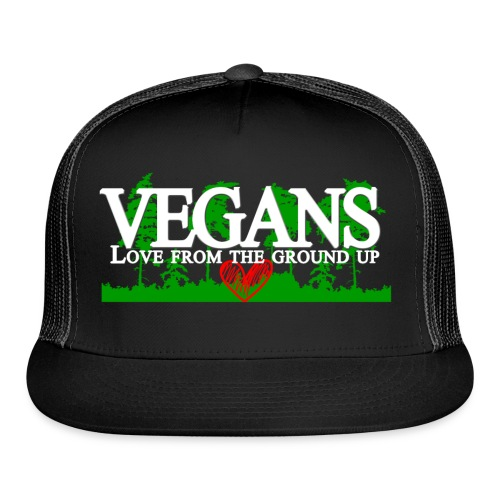 Vegan Stronger Than You Girls - Trucker Cap
