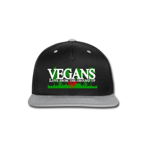 Vegan Stronger Than You Girls - Snap-back Baseball Cap