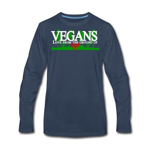 Vegan Stronger Than You Girls - Men's Premium Long Sleeve T-Shirt