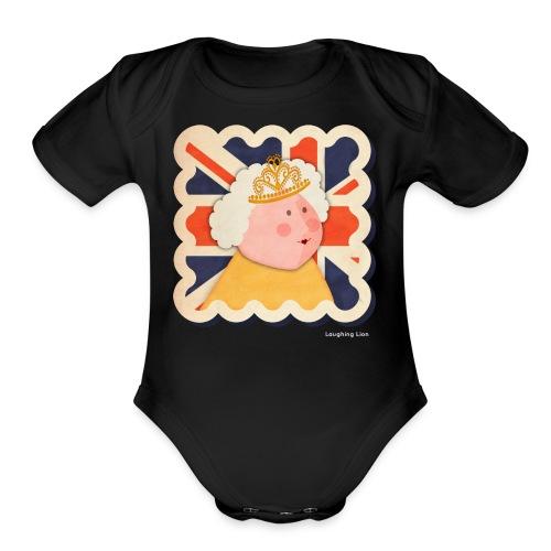 The Queen T-Shirt - Organic Short Sleeve Baby Bodysuit