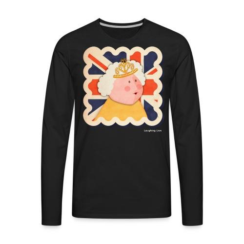 The Queen T-Shirt - Men's Premium Long Sleeve T-Shirt