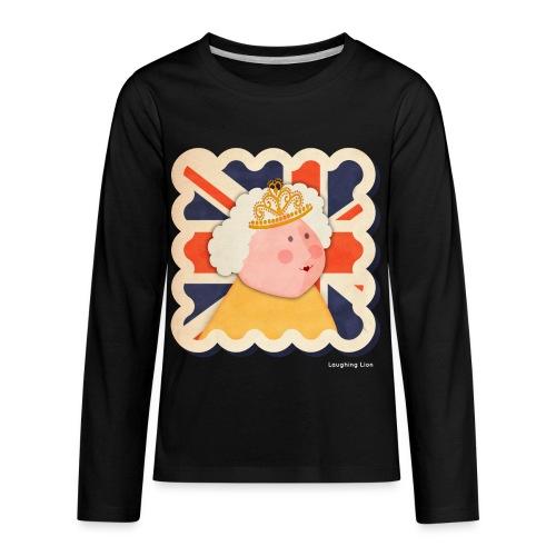 The Queen T-Shirt - Kids' Premium Long Sleeve T-Shirt