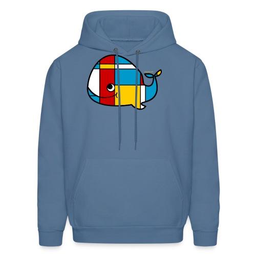 Mondrian Whale Kids T-Shirt - Men's Hoodie