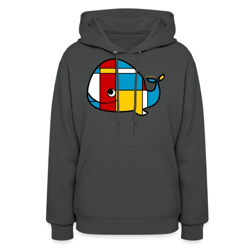 Mondrian Whale Kids T-Shirt - Women's Hoodie