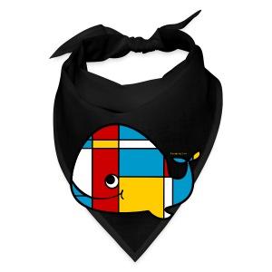 Mondrian Whale Kids T-Shirt - Bandana