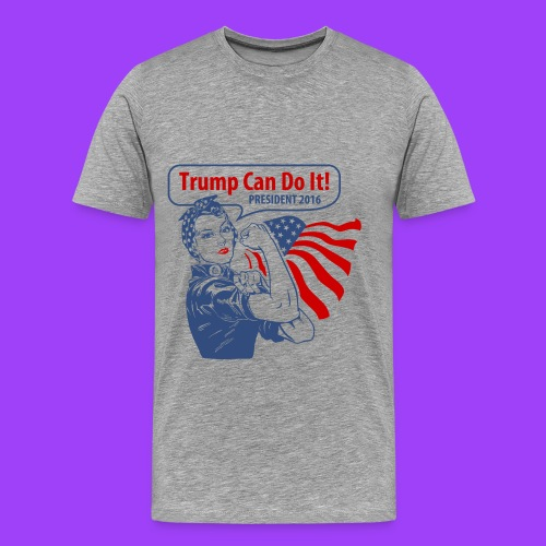 Trump Can Do It - Men's Premium T-Shirt