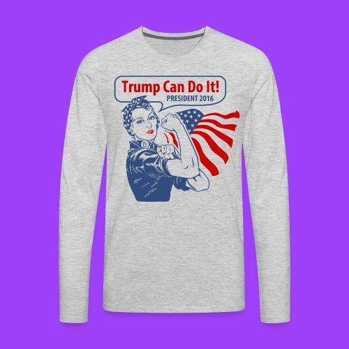 Trump Can Do It - Men's Premium Long Sleeve T-Shirt