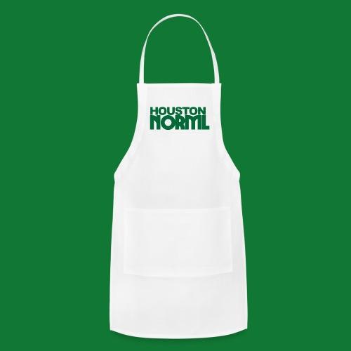 Women's Cotton Tee Houston NORML Green Logo - Adjustable Apron