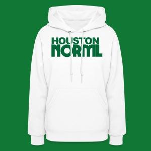 Women's Cotton Tee Houston NORML Green Logo - Women's Hoodie