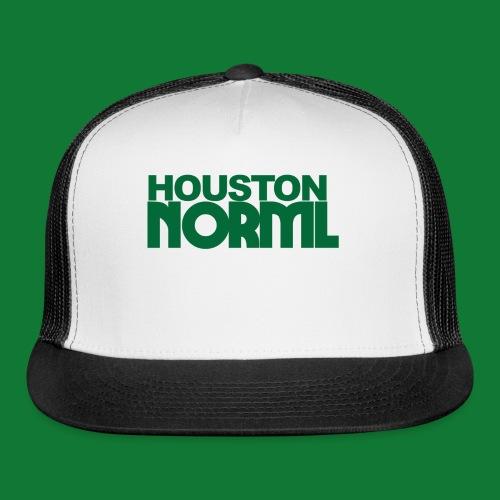 Men's Cotton Tee Houston NORML Green Logo - Trucker Cap
