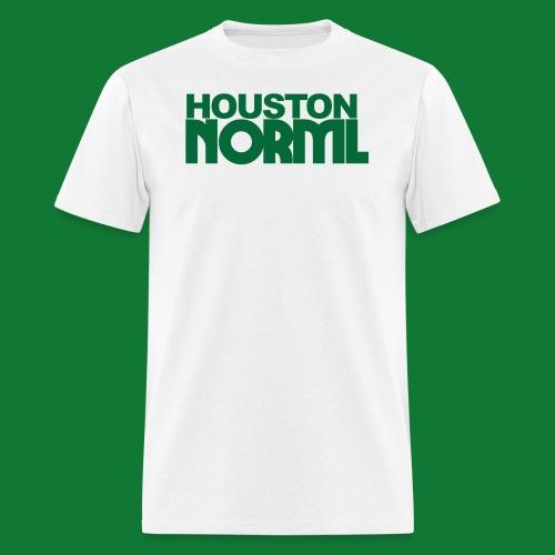 Men's Cotton Tee Houston NORML Green Logo - Men's T-Shirt