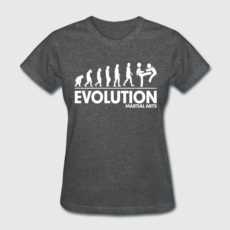 Evolution Martial Arts FUNNY Women's T-Shirts - Women's T-Shirt