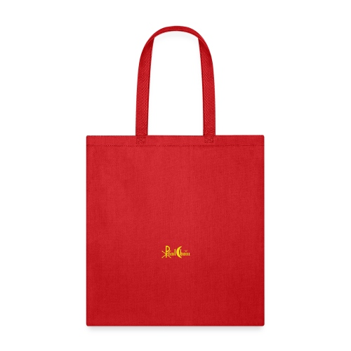 Paul Chain Coffee Mug ~ Yellow on Red - Tote Bag