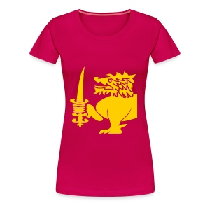 Lion Shirt - Women's Premium T-Shirt