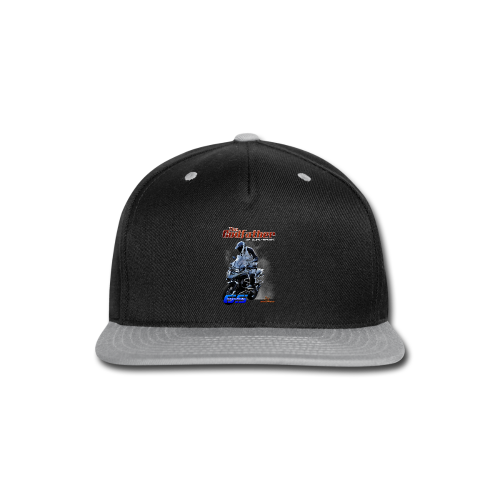 The Godfather of dual-sport. - Snap-back Baseball Cap