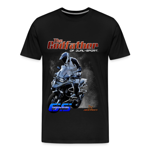 The Godfather of dual-sport. - Men's Premium T-Shirt