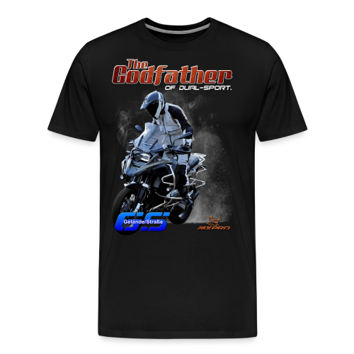The Godfather of dual-sport. - Men's Premium T-Shirt