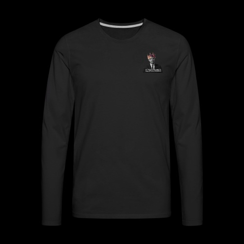 KING MALCOLM TEE - Men's Premium Long Sleeve T-Shirt