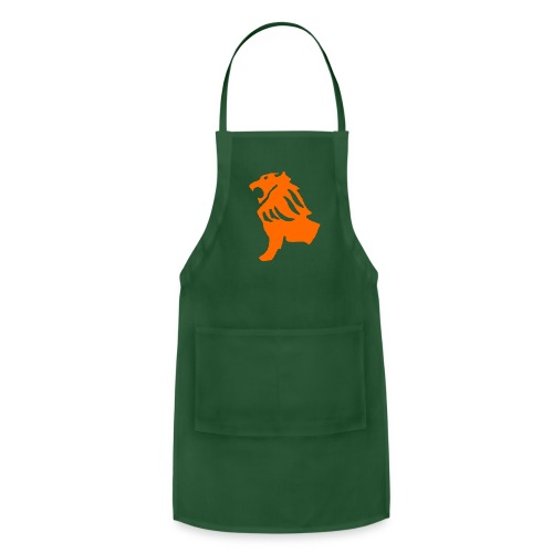 Green Lion Shirt - Adjustable Apron