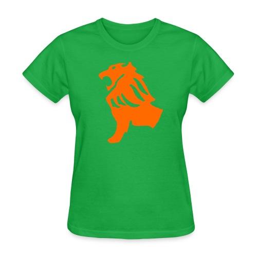 Green Lion Shirt - Women's T-Shirt