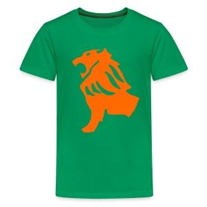Green Lion Shirt - Kids' Premium T-Shirt