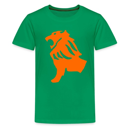 Green Lion Shirt - Kids' Premium T-Shirt