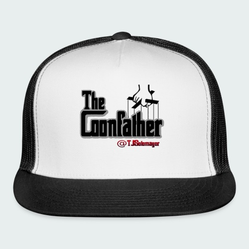 Up to 5XL-COONFATHER BLK - Trucker Cap