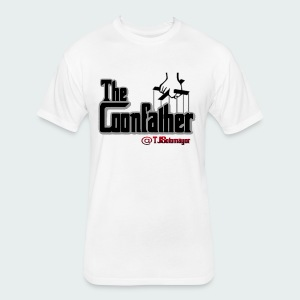 Up to 5XL-COONFATHER BLK - Fitted Cotton/Poly T-Shirt by Next Level