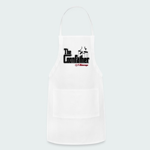 Up to 5XL-COONFATHER BLK - Adjustable Apron
