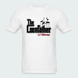 Up to 5XL-COONFATHER BLK - Men's T-Shirt