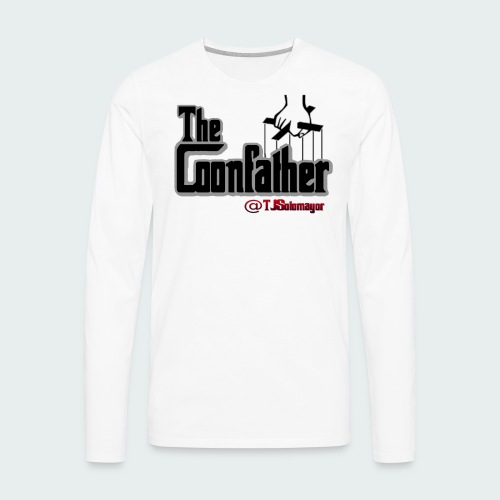 Up to 5XL-COONFATHER BLK - Men's Premium Long Sleeve T-Shirt