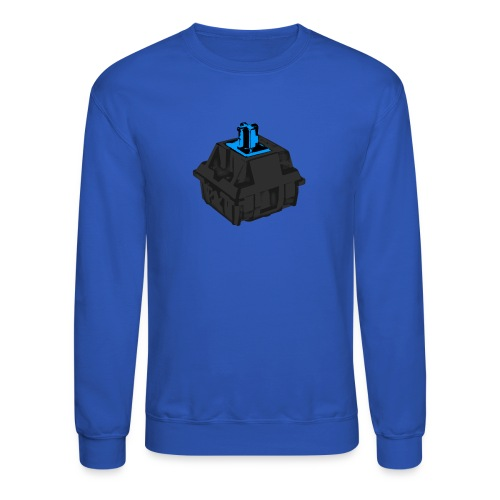 Men's Blue Switch with Black Housing - Crewneck Sweatshirt