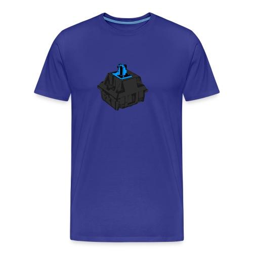 Men's Blue Switch with Black Housing - Men's Premium T-Shirt