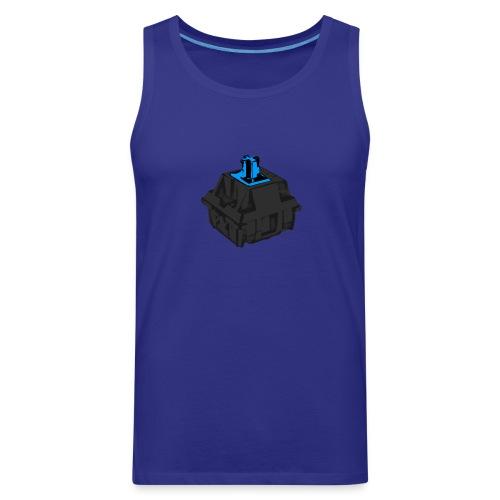 Men's Blue Switch with Black Housing - Men's Premium Tank